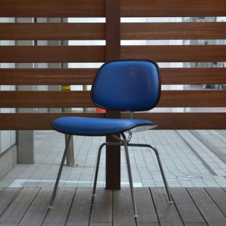 ダイニングチェア / Two Piece Plastic Chair / Herman Miller / Blue