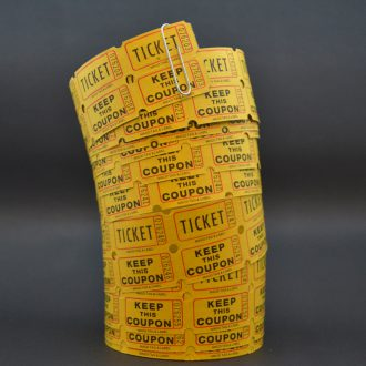TICKET / COUPON ROLL / U.S.A.