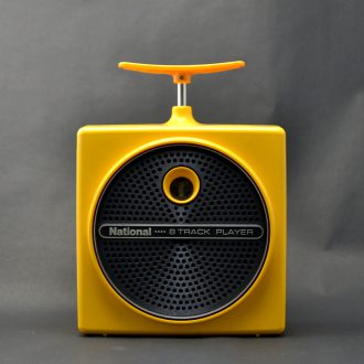8TRACK PLAYER YELLOW / National