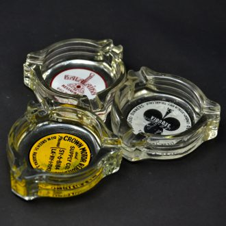 Glass ashtray / U.S.A